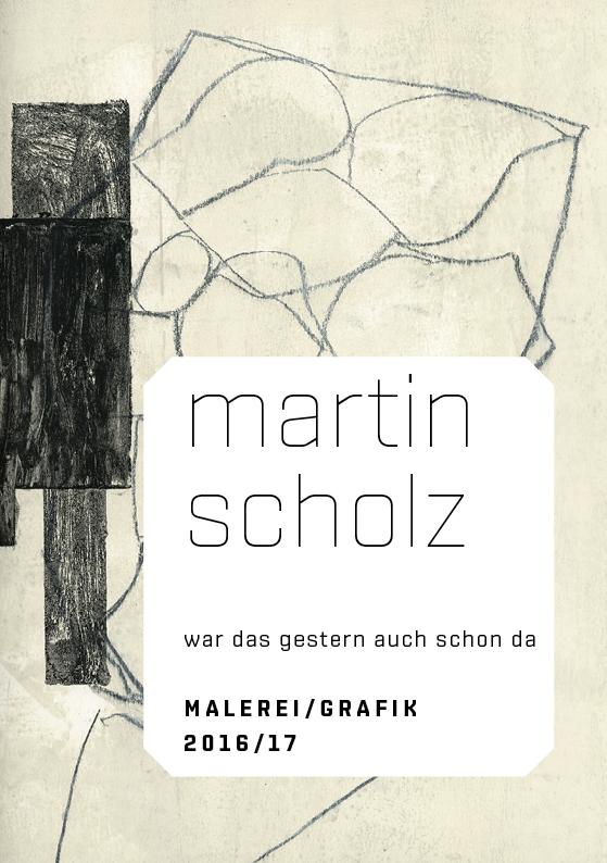 Martin Scholz – war das gestern auch schon da